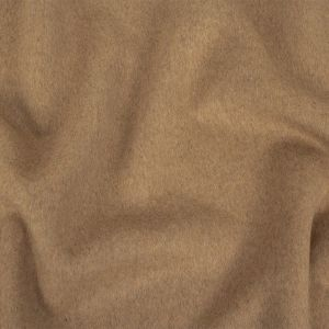 Gilded Beige Wool and Cashmere Double Cloth