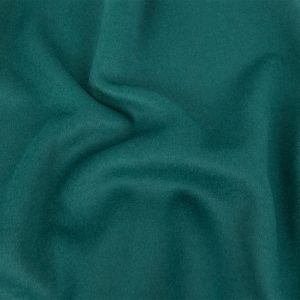 North Sea Blue Wool and Cashmere Double Cloth
