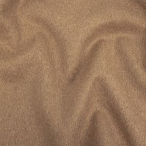 Warm Taupe Wool and Cashmere Double Cloth