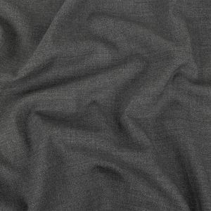 Italian Gray Natural Stretch Wool Suiting