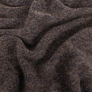 Black and Charcoal Heathered Fuzzy Wool Knit