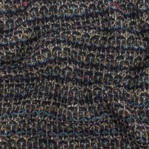 Blue Moon, Yellow and Raven Chunky Sweater Knit