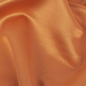 Reverie Amber Ale Solid Polyester Satin