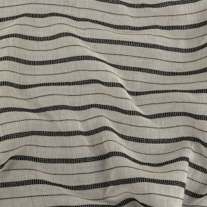 Zimmermann Ivory Cotton Voile with Phantom Woven Pinstripes
