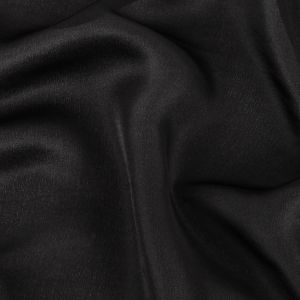 100/% Silk Fabric 24 length 27wide Black and Yellow fabric Woven Silk #068