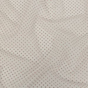Zimmermann Rustic Lilac Flocked Dots Polyester Mesh