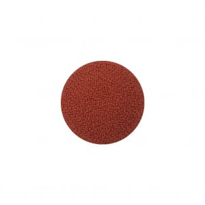 Ginger Creped Fabric Covered Domed Wool Blend Sew On Button - 25L/16mm