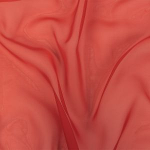 Arcalod Valentine Red Double-Wide Polyester Voile