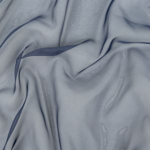 Arcalod Navy Double-Wide Polyester Voile