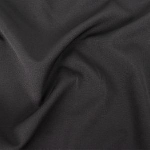 Black Stretch Polyester Woven