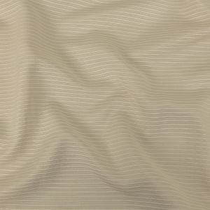 Beige Polyester Faille with Raised Ridges