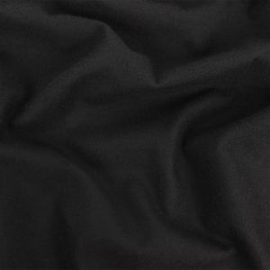 Theory Black Cotton Flannel Lining