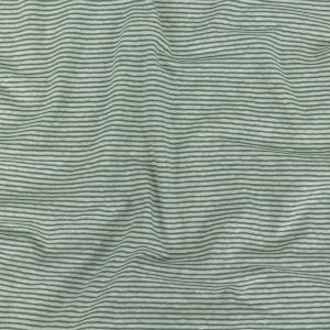 Theory Moss Green and White Alyssum Striped Linen Knit