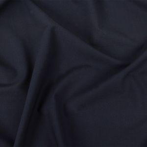 Alvin Valley Italian Navy Stretch Wool Suiting