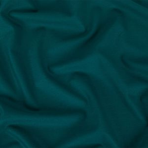 Deep Teal Stretch Twill Wool Suiting