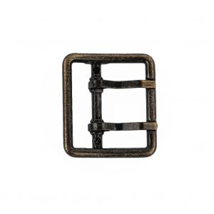 Old Gold Double Tongue Metal Buckle - 25m
