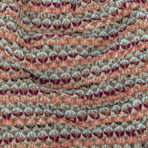 Limestone, Magenta, Angel Falls and Coral Wool Sweater Knit