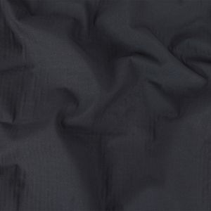 Navy Cotton Double Cloth with Striped Faux Quilting