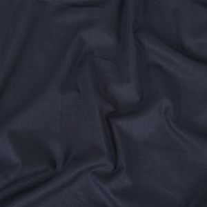 Navy Dotted Stripes Dobby Cotton Voile