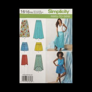 Simplicity Misses' Knit and Woven Skirts Pattern 1616 Size R5 US 14-22