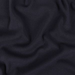 Dusted Navy Cotton Double Knit