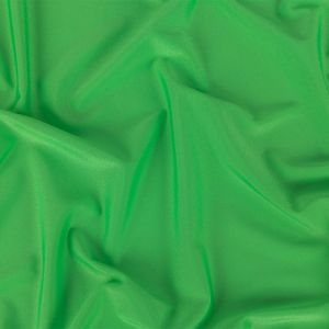 Neon Green Shiny Polyester and Spandex Tricot