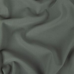 Gray Wool Stretch Double Cloth Suiting