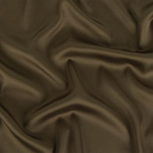 Theory Military Green Satin-Faced Polyester Twill Lining