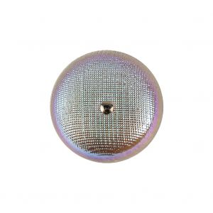 Cyan, Lavender and Opal Iridescent Translucent Shank Back Button - 36L/23mm