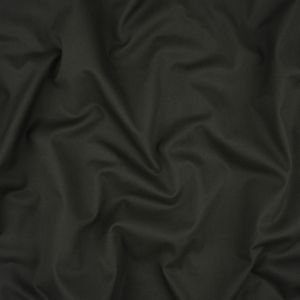 Charcoal Stretch Cotton Twill
