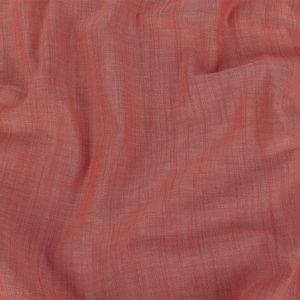 Red Lightweight Cotton Chambray