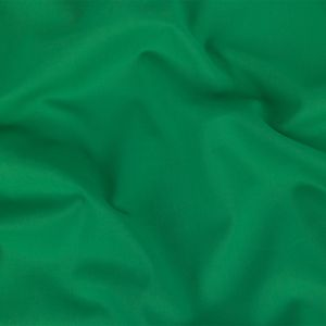 Leprechaun Green Stretch Polyester and Cotton Suiting