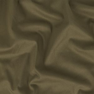 Burnt Olive Stretch Cotton Sateen