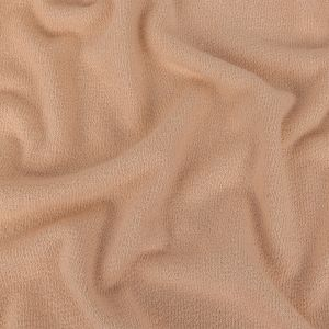 Pale Peach Cotton French Terry