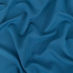 Twilight Blue Fluid Cotton and Polyester Faille