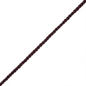 Blackberry Cotton Blend Twisted Cord - 3mm