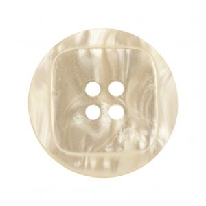 Icicle Iridescent 4-Hole Tiny Mound Jacket Button - 44L/28mm