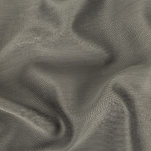Steel Gray Silk and Cotton Woven