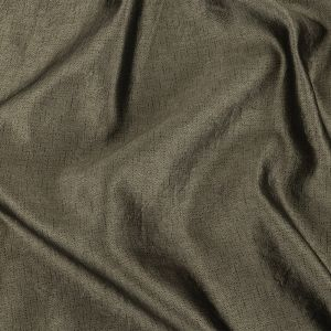 Olive and Gray Heathered Silk Woven