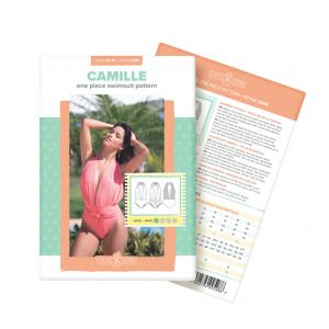 Camille One Piece Swimsuit Sirena Sewing Pattern