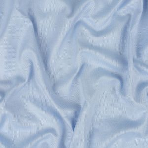 Baby Blue and White Cotton Dobby Shirting