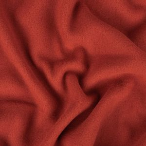 Sun Dried Tomato Recycled Polyester Stretch Knit Fleece