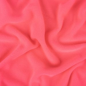 Neon Sugar Plum Pink Recycled Polyester Stretch Knit Fleece