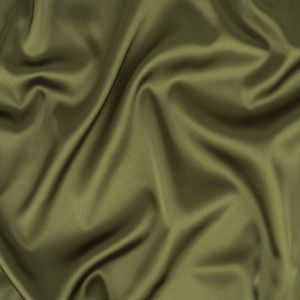Moss Green Stretch Polyester Satin Lining