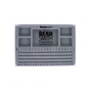 Mini 3 Channel Bead Board With Lid - 7.75