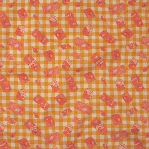 Mood Exclusive Peachy Produce Stretch Cotton Twill