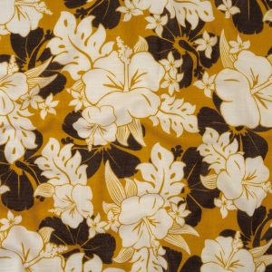 Mood Exclusive Mineral Yellow Vibrant Vacation Gauzy Cotton Double Cloth