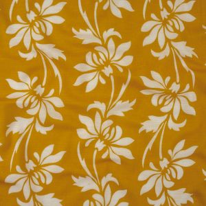Mood Exclusive Yellow Voyager Gauzy Cotton Double Cloth