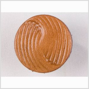 Natural Leather Button - 32L/20mm