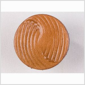 Natural Leather Button - 36L/23mm